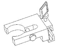 Mounting Bracket for High Pressure Dispense Valve 1049138