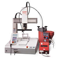 Loctite 504 Benchtop Robot, 510 mm x 510 mm x 150 mm, 4 axis, 110V, CE Rated